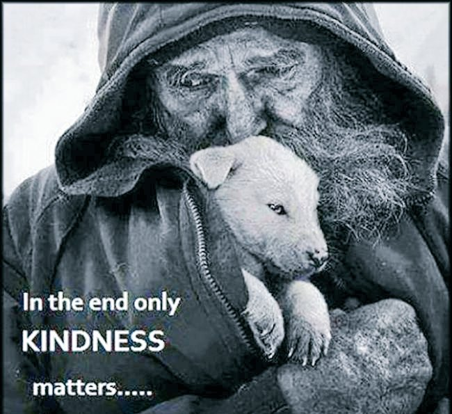 #SundayThoughts Character is how you treat those who can do nothing for you...!!! #kindness