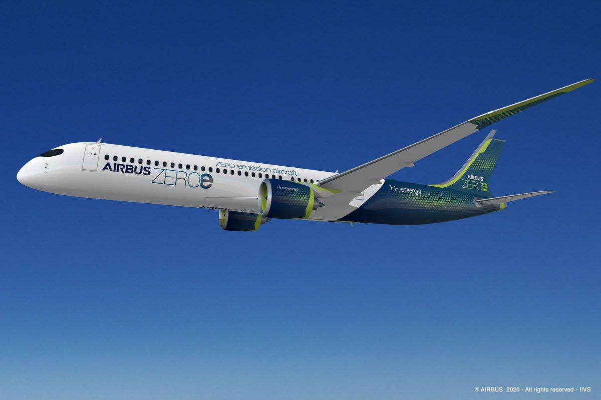 Airbus Zeroe Turbofan Concept Plane  #Airbus #zeroe #turbofan #aviation #technology #EnvironmentalInnovation #Earth #Health #life #avgeek #sundayvibes @Airbus    \X/ish ;0)