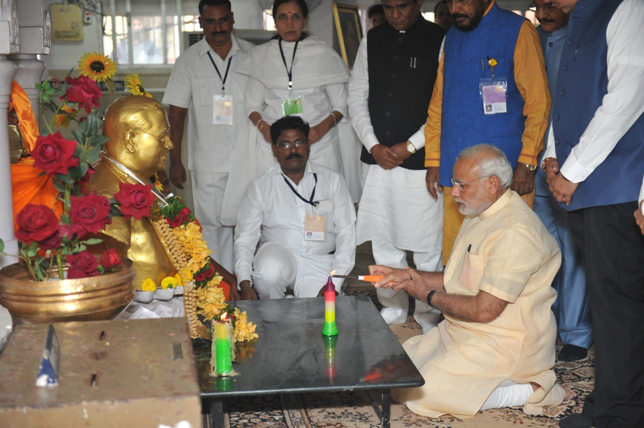 PM pays tributes to Dr. Babasaheb Ambedkar on Mahaparinirvan Diwas