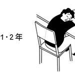 建築学生を寝方で見分ける方法?徐々にレベルアップしてるw