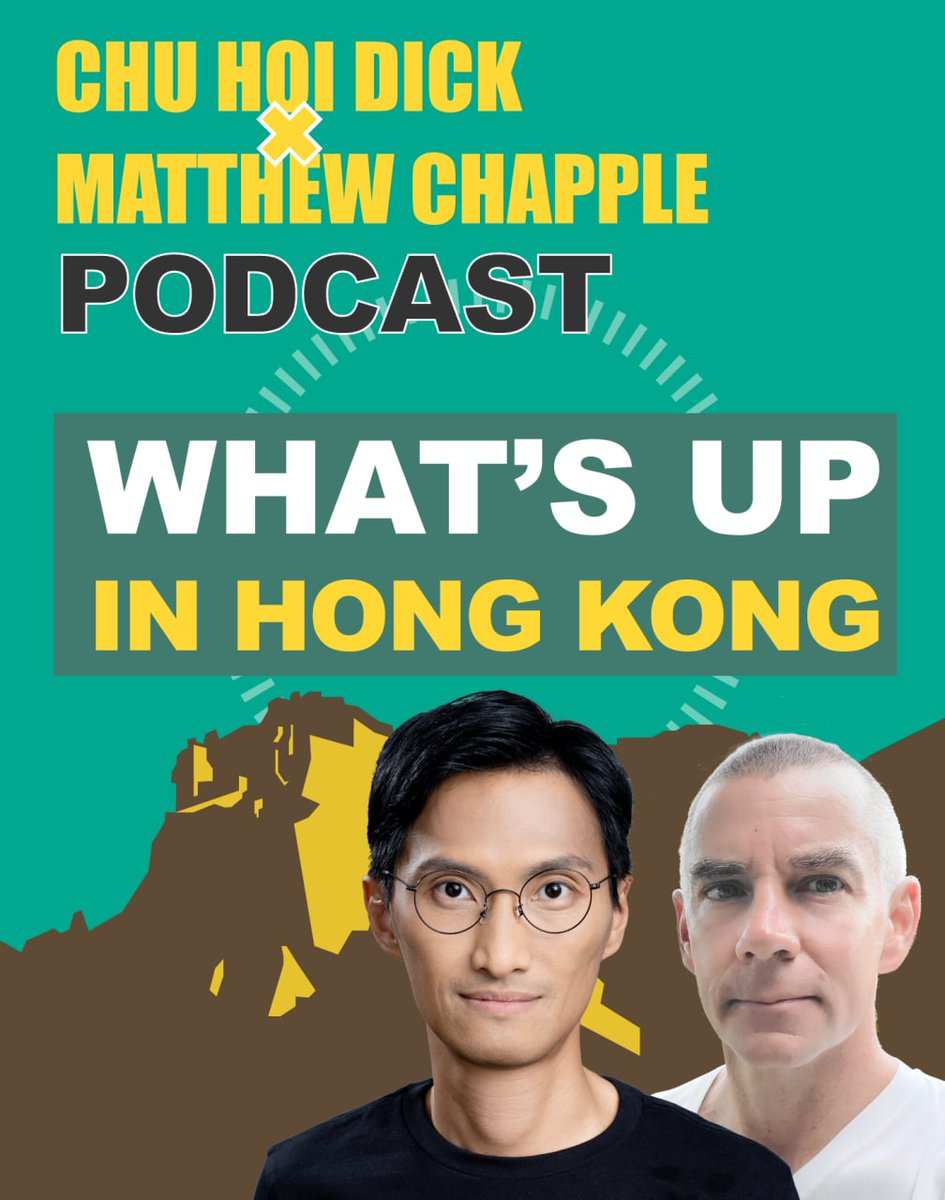 Welcome to my new Podcast with @LammaMatthew. We cover events taking place right now with a different guest each episode (first guest @LesterShum on HK's liberal autocracy).  🍏Apple Podcast: https://t.co/oDnKQk1LND 🍊Google Podcast: https://t.co/TD9qcBkail https://t.co/mgTsvDQfiZ