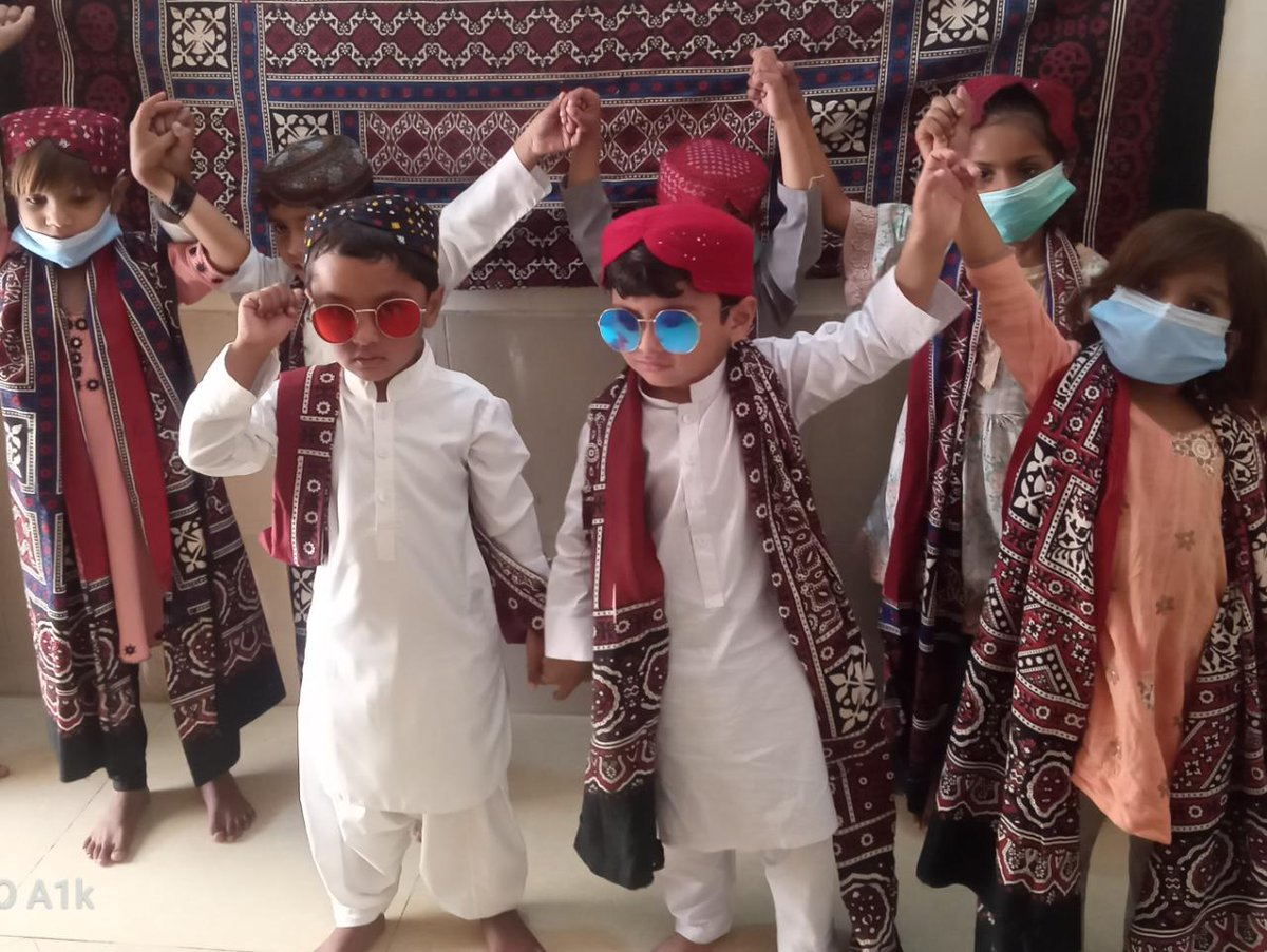 Rekha Asnani #ChampionsForChange today Celebrated Sindh Culture Day. #SindhiCulturalDay2020 @MalalaFund @USIP