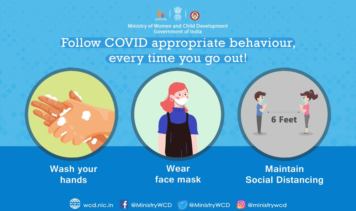 It is important that we do not forget about following #COVID19 Appropriate Behaviour, wherever we go.   Let's do our bit to keep ourselves and others safe from #CoronaVirus.  #Unite2FightCorona #NewNormal #StaySafe