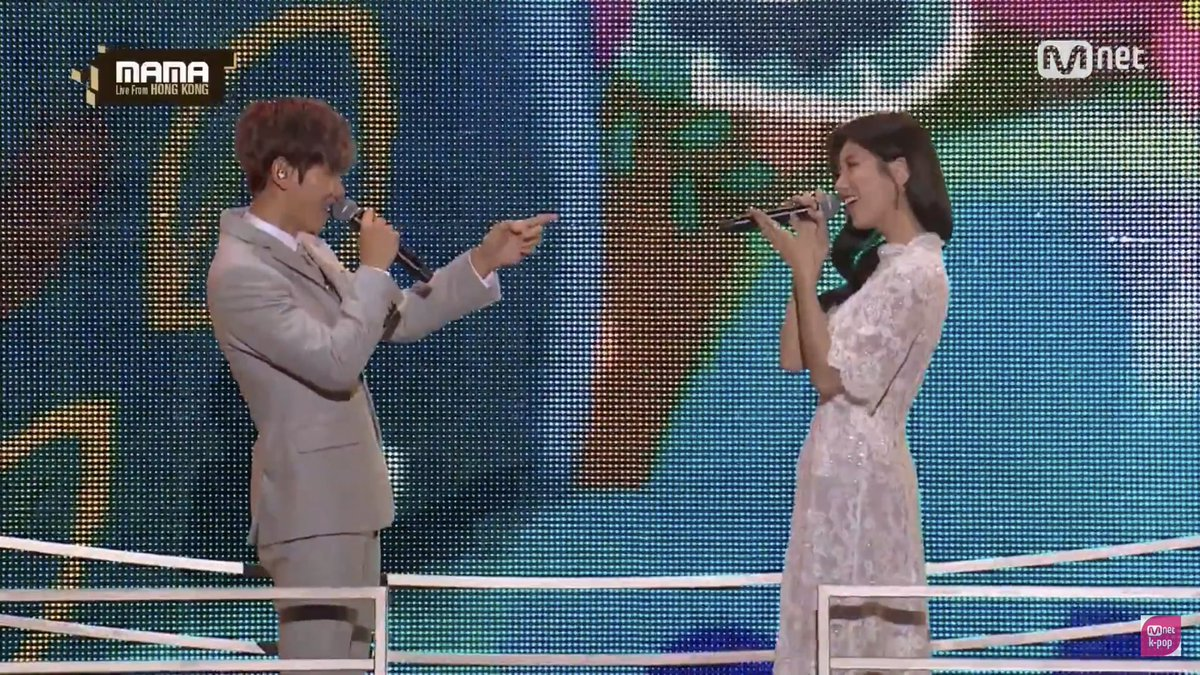 Replying to @bbhbaekk: Baek & suzy                   EXO's reaction