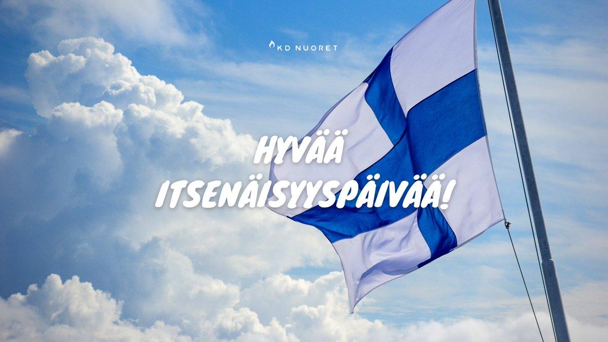 """test Twitter Media - """"Tutkien sydämemme silmäsi meihin luo! Ettemme harhaan kääntyis, ettei kansamme nääntyis, silmäsi meihin luo! Alati synnyinmaalle siipies suoja suo!""""  (Uuno Kailas, 1931)  Hyvää itsenäisyyspäivää! Trevlig självständighetsdag! 🇫🇮 https://t.co/un2IWB65wf"""