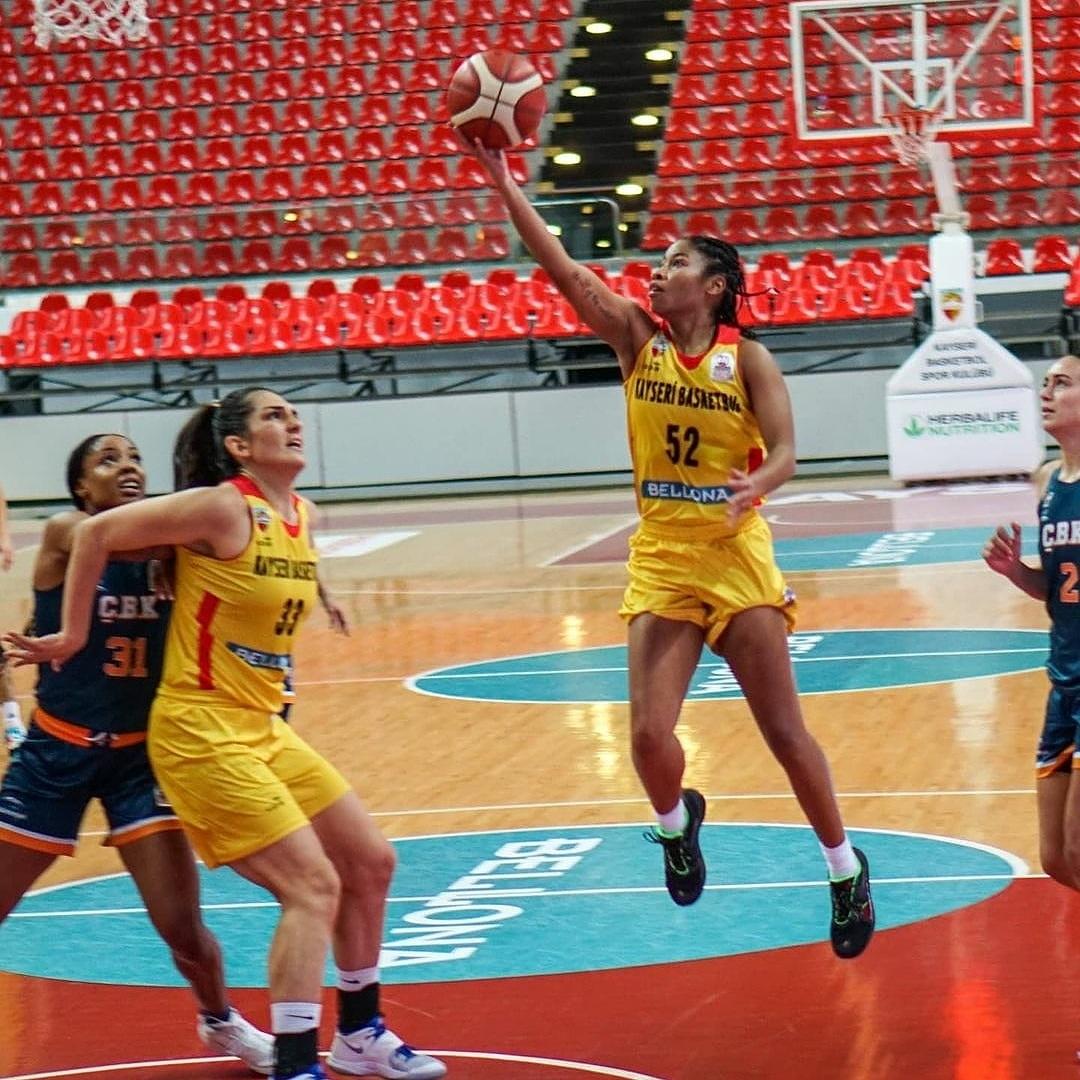 . #Gameday   @TyHarris_52 & @kayseribasketsk  🏆 Herbalife Nutrition KBSL  🆚 #Botaş 📅 06.12.2020 🕓 6am 📍 Ankara Dsi Etlik Spor Salonu 📺   #FinishYourBreakfast #WNBAOverseas #WNBA #TheOnlyWayIsThrough #RecoverAndRise #FIBA #EuroCuo