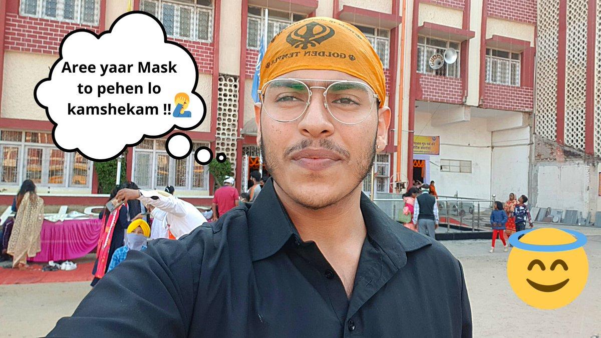 Checkout my New Gurupurab 2020 Vlog on Youtube and Share ur Reviews Guys 😇 Link below:- 👇👇👇   #GuruNanakJayanti2020 #vlogger #YouTube