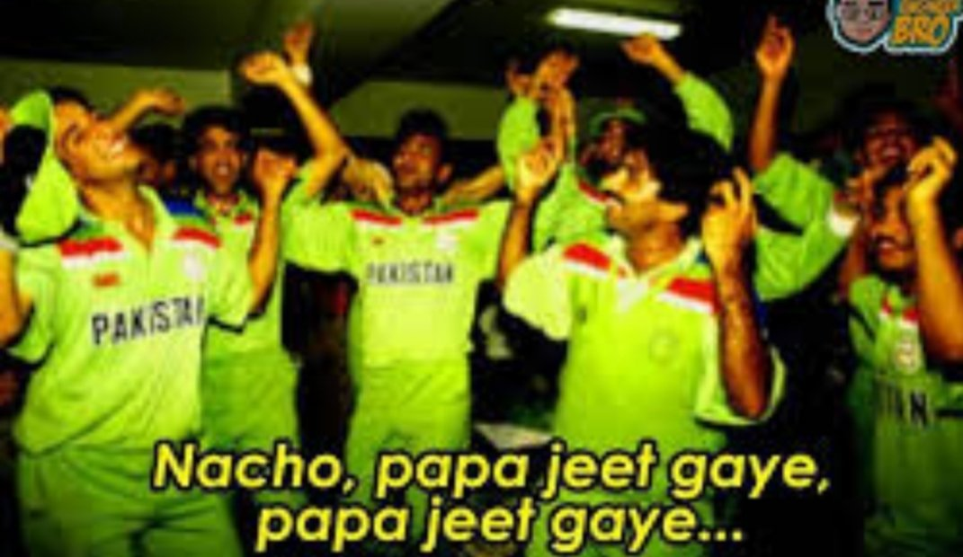 @imVkohli Meanwhile pakistan