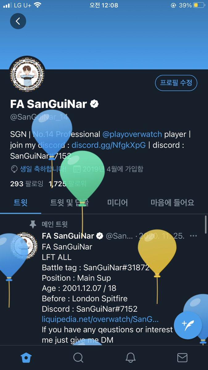 SanGuiNar - Happy Birthday to me ! 🥳