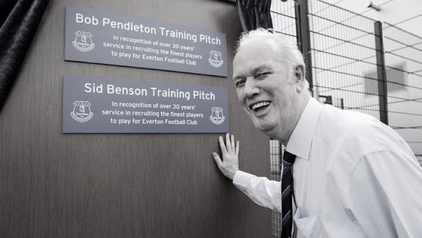Sad to hear the news that Bob Pendleton the @Everton scout that brought me to the club has passed away in Fazakerley Hospital at the age of 81. Rest in peace Bob. Prayers and condolences to all Bob's family and friends 🙏🏼💙