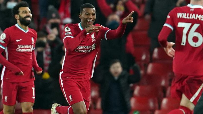 Liverpool player ratings against wolves