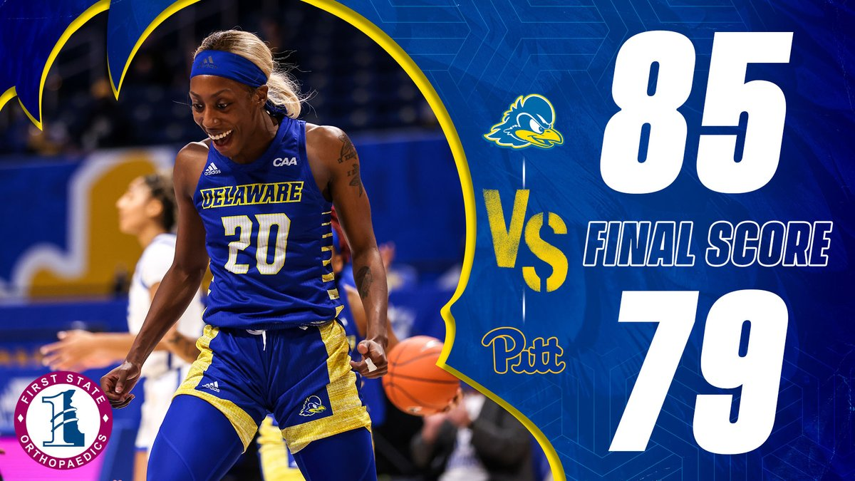 I'm so proud of @DelawareWBB 👏🏾👏🏾👏🏾 I'm bragging on all them right now!!!!! Great job ladies 💪🏾💪🏾💪🏾 No Talk.... Just Action 💙💛🏀🔥#AOW https://t.co/yWpMWPpwzJ