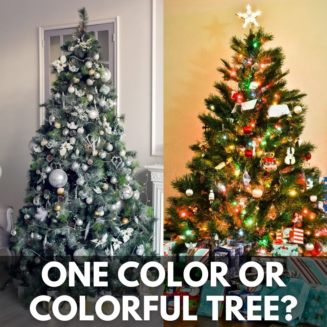 Nbc12 Wwbt Richmond On Twitter Be Honest Which One Do You Like Better One Color Or Colorful Christmas Tree