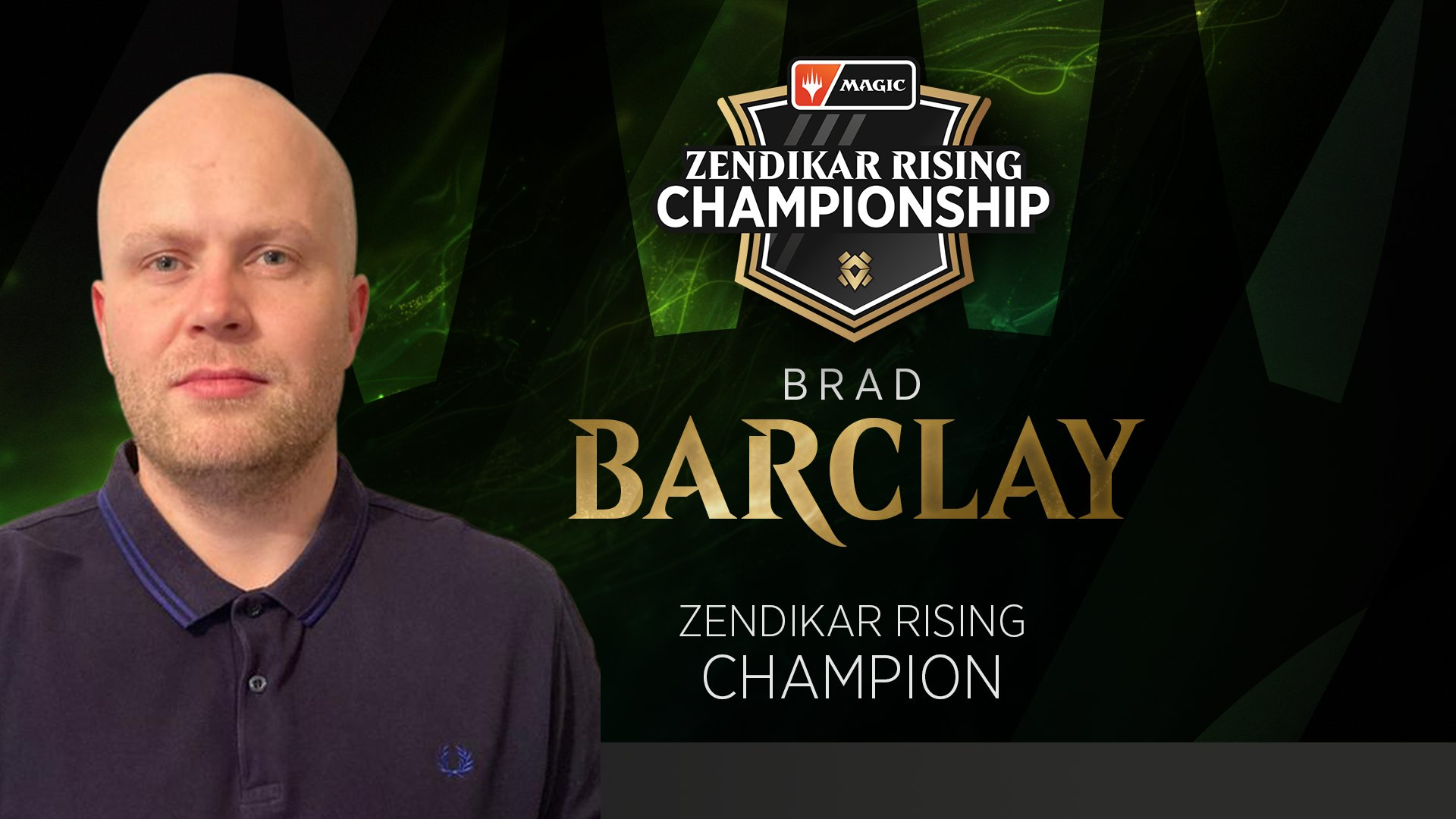 Brad Barclay Campeão