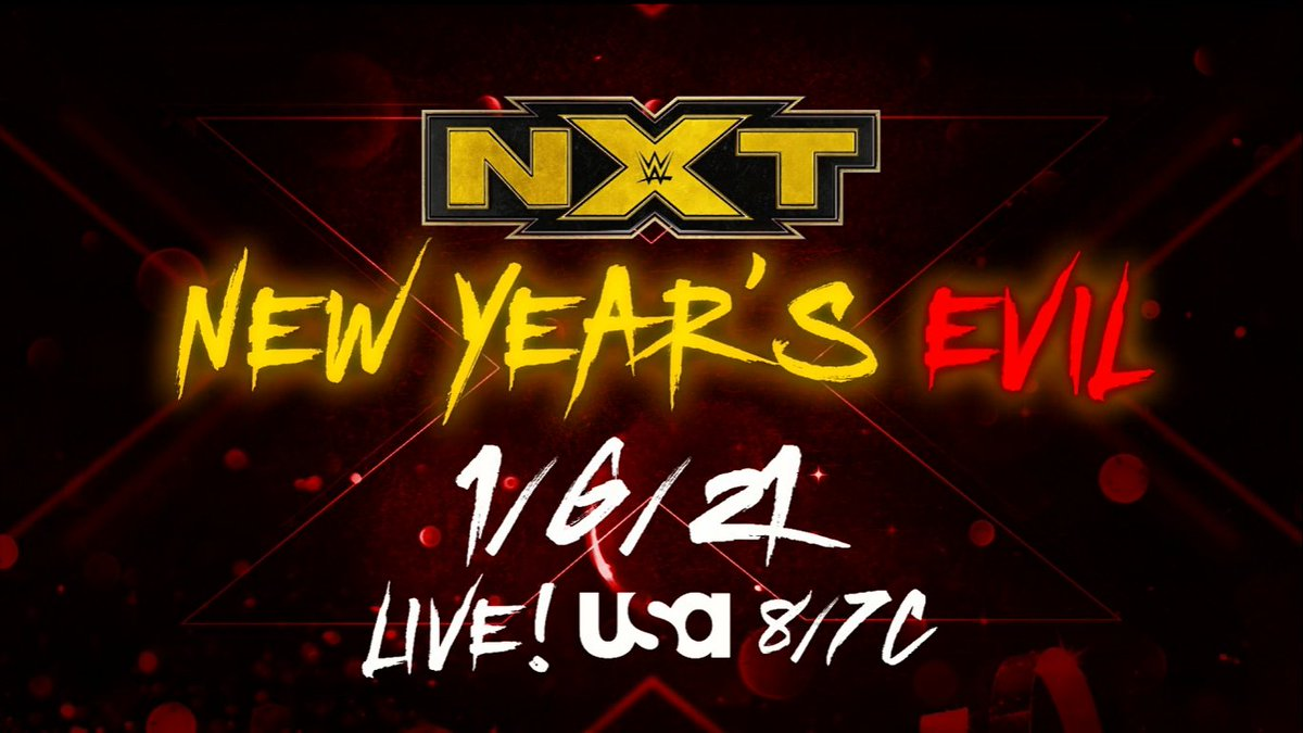 New Year's Evil Special Edition Of WWE NXT Announced