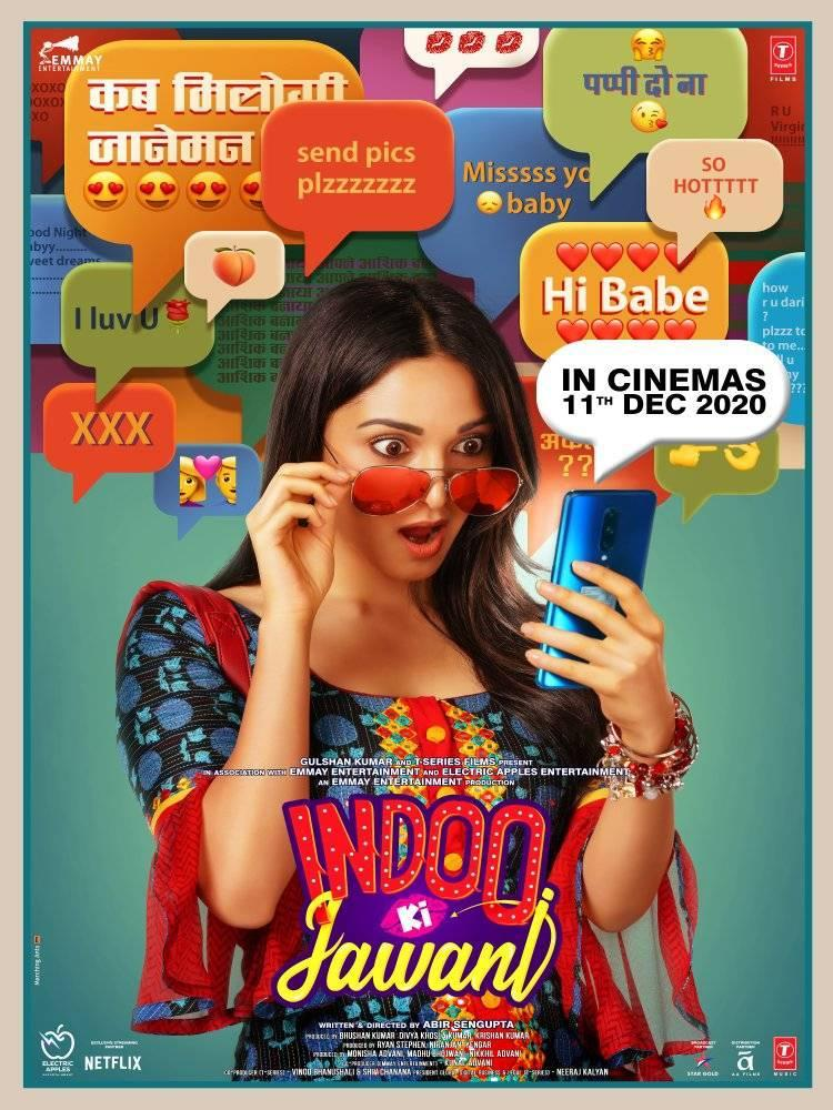 𝘼𝘿𝙑𝘼𝙉𝘾𝙀 𝘽𝙊𝙊𝙆𝙄𝙉𝙂 𝙊𝙋𝙀𝙉 𝙉𝙊𝙒!  Watch this comedy of errors and have some mad fun! 🤪 #IndooKiJawani releasing on 11th December at your safest entertainment destination @_PVRCinemas  #XperiaMall #PVRUpdates #AAFilms