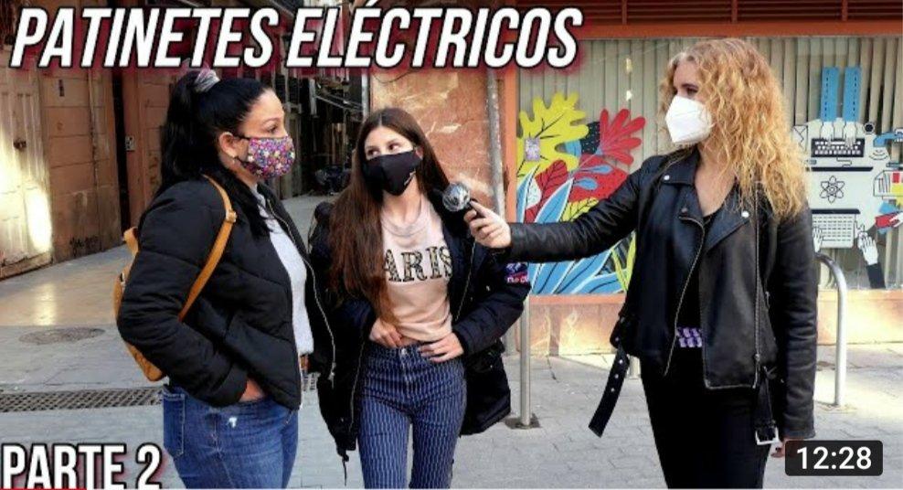 Aquí os dejo la parte 2 de las entrevistas para crear conciencia social y conseguir que se equipare a las bicicletas   #MedioAmbiente #BuenosDiasATodos #COVID19 #coronavirus #contravientoymarea #VMP #patinete #Xiaomi @etwow #dualtron #dgt #alicante #patin