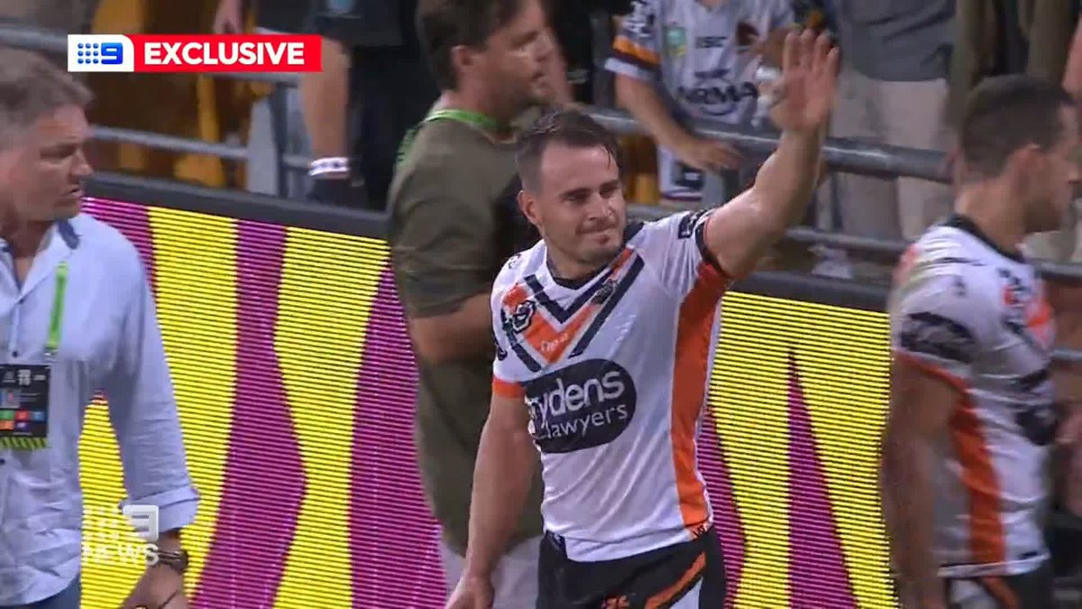 Gareth Widdop to approach Tigers now that Josh Reynolds is gone. Thanks to @joshreynolds9 for his time today