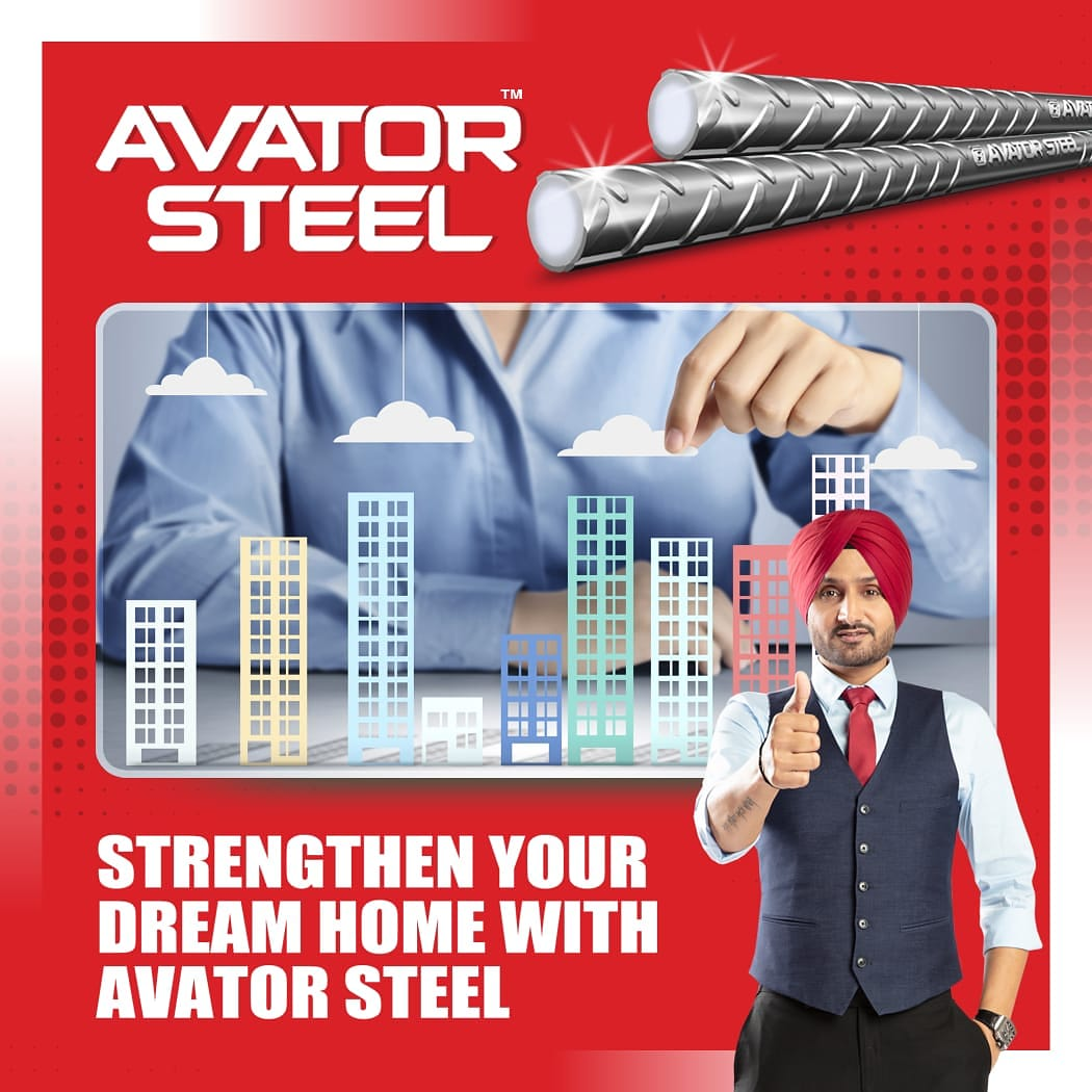 While building your dream home, the single greatest decision you could take is using #AvatorSteel to make it.   #HarbhajanSingh  @harbhajan_singh