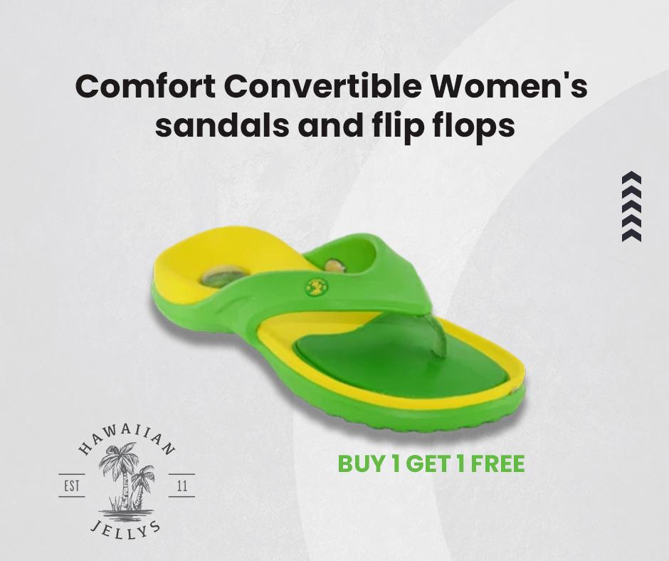 Comfort convertible women's sandals and flip flops #flipflops #sandals #feet #leathersandals #Slipaaahs #slippers #flipflopseason #fashion #summer #hawaiianjelly #shoes #dressshoes #onlineshopping #foot #heels #kidsfeet #chinelo #convertiblesandals #patrioticsandals #footwear #uk