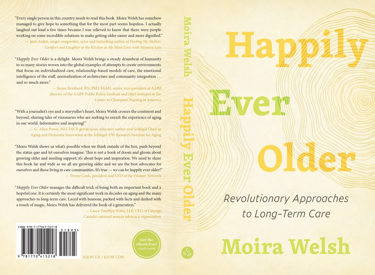Moira: #HappilyEverOlder & your work, research & pragmatic approach to deinstitutionalize #longtermcare is critical to ensure dehumanizing elders will not be tolerated.  Now its up to #Cdns. & #essentialfamilycaregivers to ensure political leaders follow-through #postcovid19 #LTC