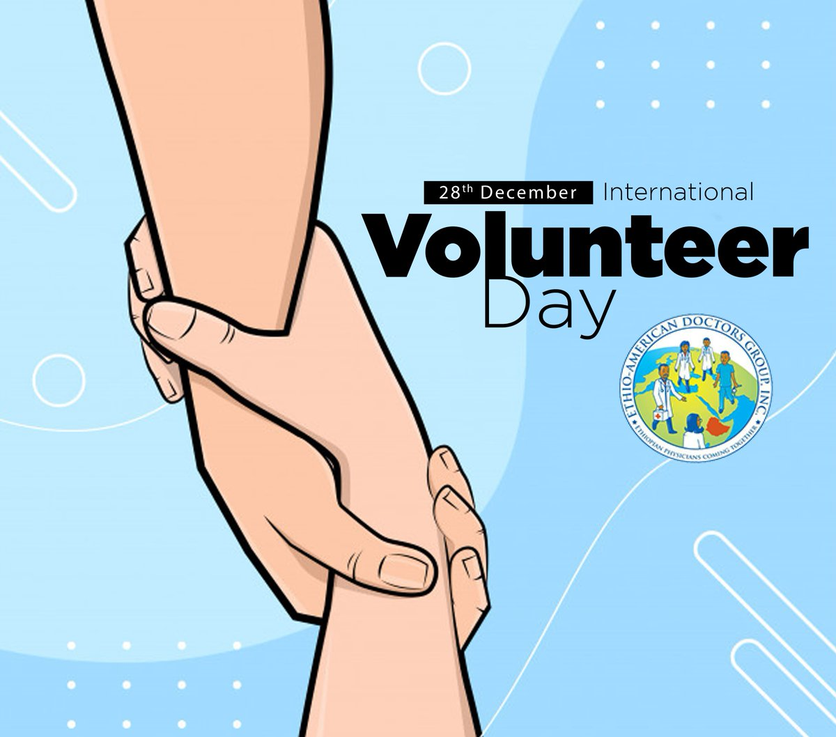 Your role as a volunteer gives you a sense of pride and identity as you grow yourself from a volunteer into a fighter that can stand alone. As you're doing your volunteer work you should always keep in mind that you're doing something very meaningful #InternationalVolunteerDay