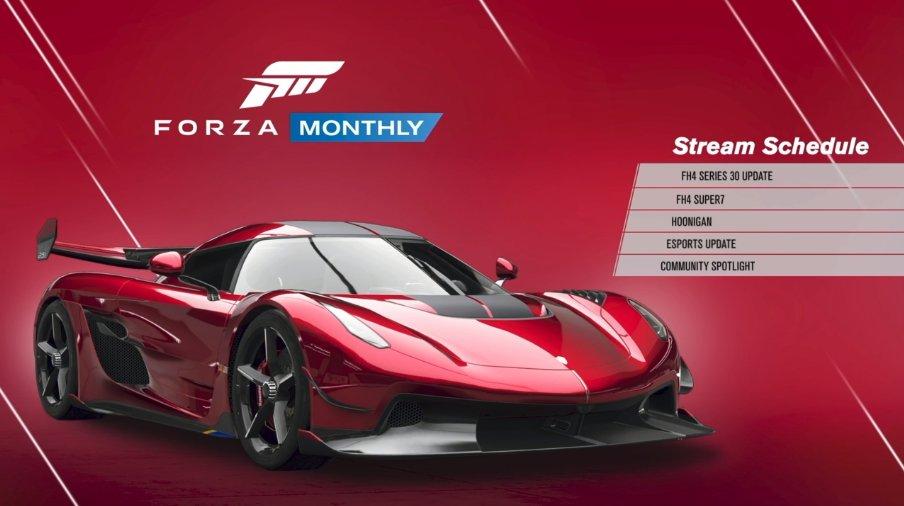 New update in Forza Horizon 4: Forza Horizon 4