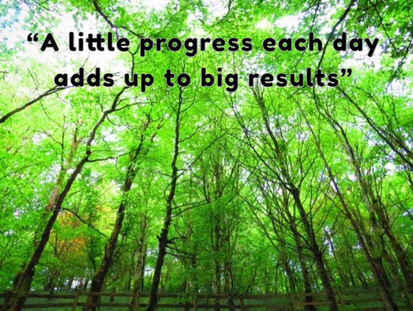"""✨ MONDAY MANTRA ✨ """"A little progress each day adds up to big results"""" 📸 by Roisin McLaughlin"""