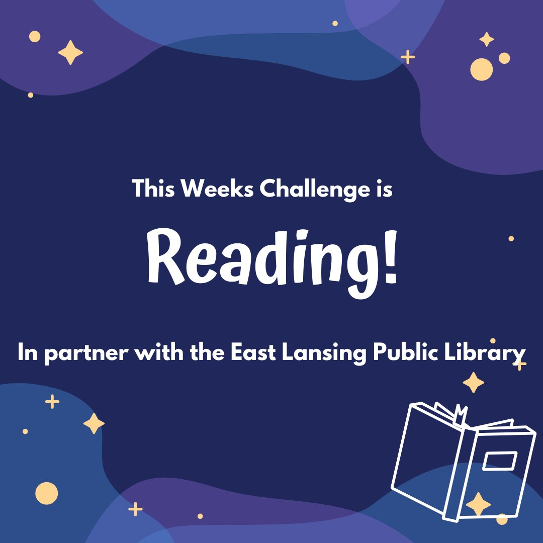 We are very excited to be partnering with the @elplibrary for our 4th Quarter Challenge! This week is Reading! We will have a few different story times this week with a special one on Wed December 9th! Come join us as @RaquelIzzo reads one of her favorite Christmas stories!💚🎄
