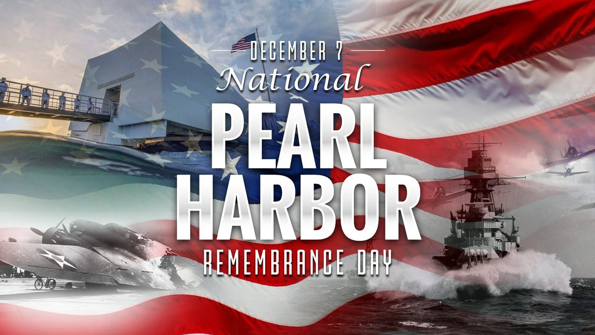 Their bravery and sacrifice will never be forgotten. 🇺🇸  #PearlHarborDay #PearlHarbor79 #PearlHarborRemembranceDay #NeverForget