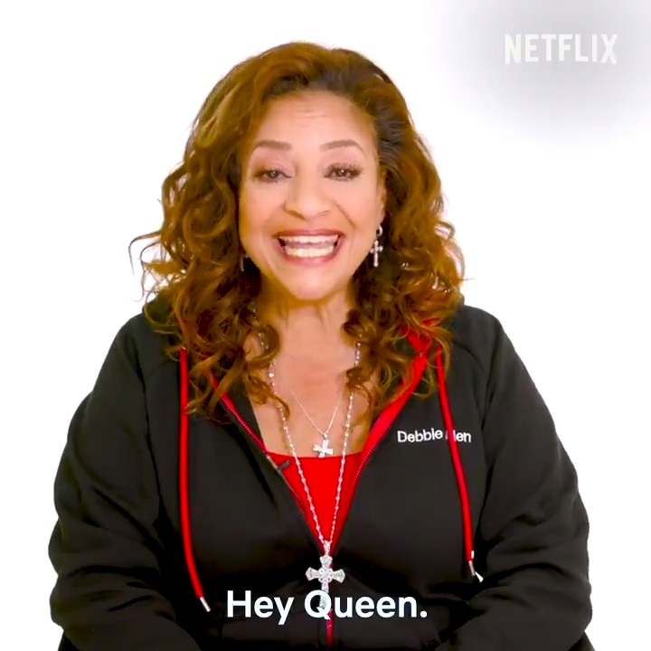 From one QUEEN to another, here's a special motivational message from Debbie Allen to you.