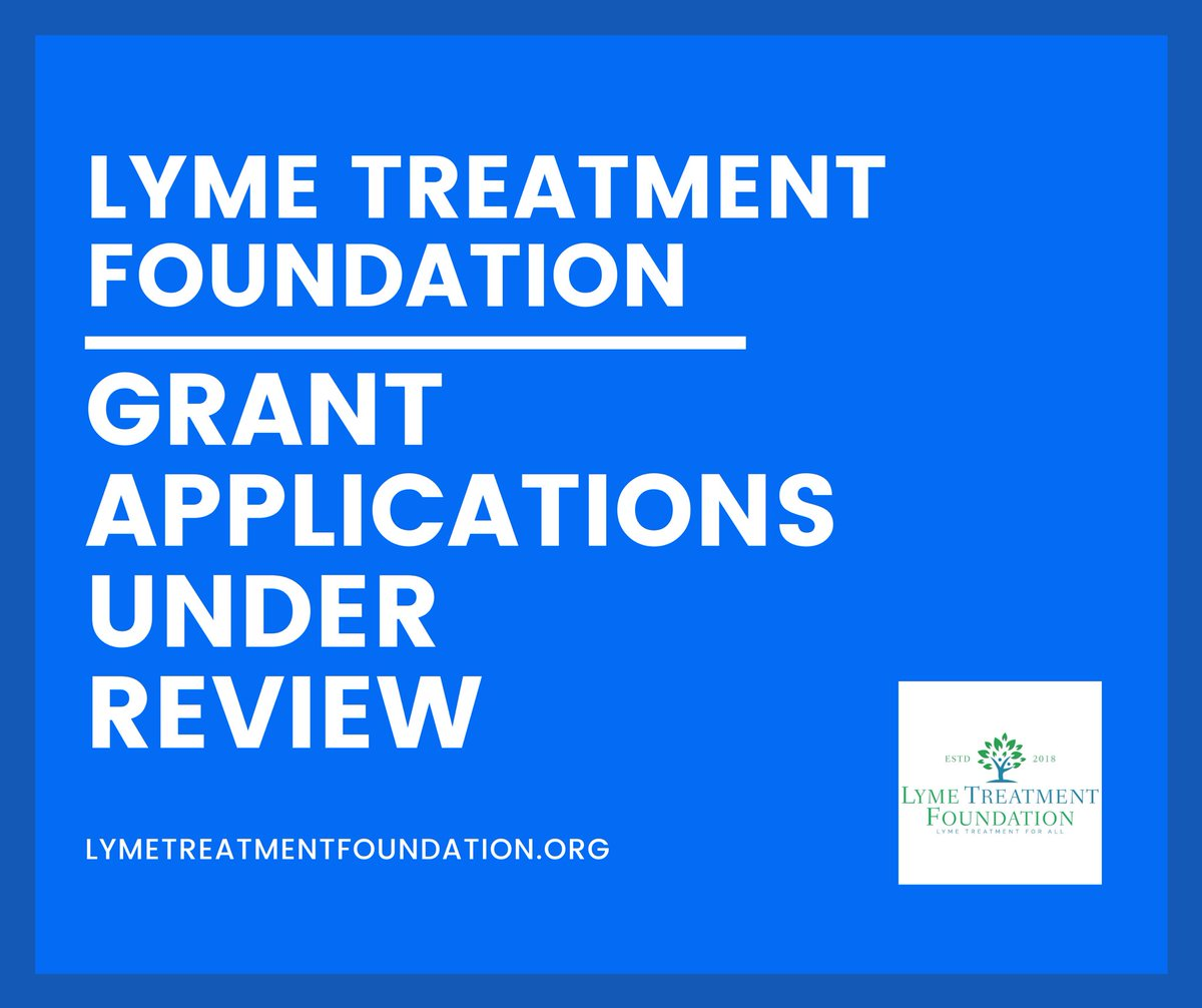 Grant applications for Lyme disease treatment are currently under review! 💚 #Lymedisease #TreatmentGrants #FightLyme #DontGiveUp #LymeTreatmentforAll