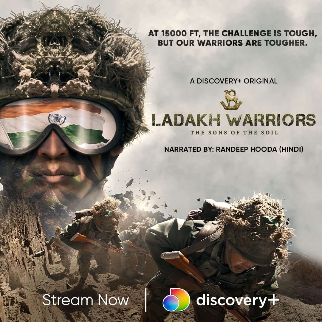Living a soldier's life is not easy. Hardships, determination, consistency & an undying love for their motherland are what make a true soldier. Watch to know more on '#LadakhWarriors –The Sons of the Soil' on #DiscoveryPlusApp. #DiscoveryPlusOriginals @adgpi