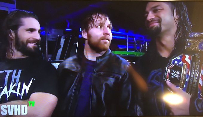 Happy Birthday Dean Ambrose God bless you bro Love you