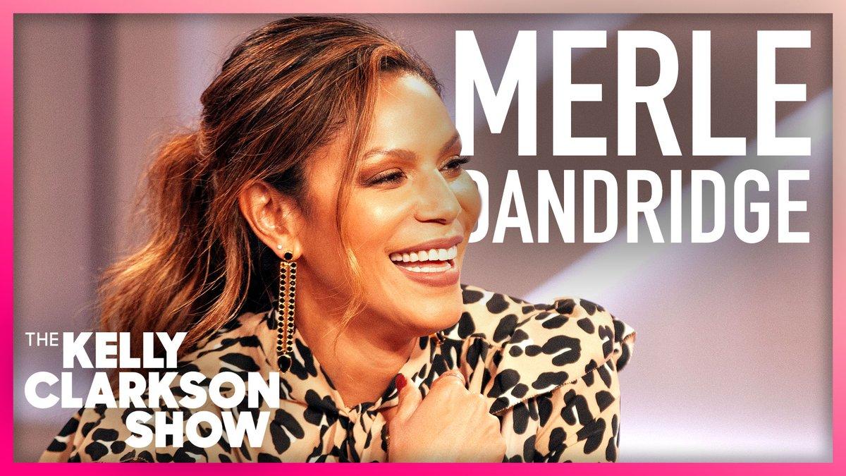 .@MerleDandridge Role In #TheFlightAttendant Was Originally Written For A Man!  WATCH:   #KellyClarksonShow
