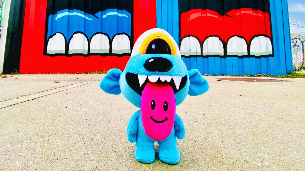 """We're proud to announce our partnership with iconic Atlanta artist @GREGMIKE on his release of """"Loud Hound""""- a limited edition plush toy! 50% of proceeds benefit Atlanta's homeless animals, and """"Loud Hound"""" sold out in under 30 minutes!  Thank you @GREGMIKE!"""