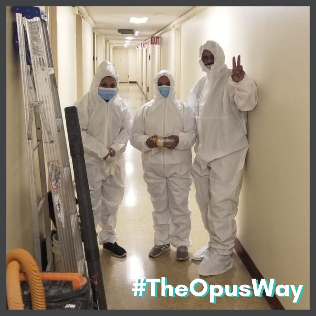 The Opus Way means always having a solution for any problem our clients bring us. We're prepared to help!  #staffing #security