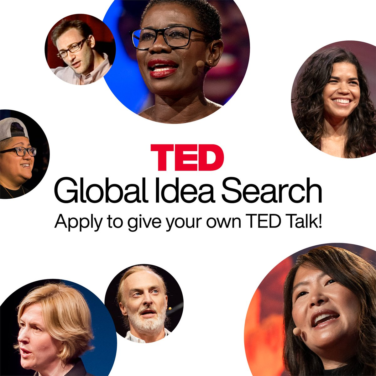 Have you wanted to give a TED Talk? This could be your chance to make your ideas heard!  Applications are open until Jan. 21 for our Global Idea Search. Get started: https://t.co/5p0SsYiOup https://t.co/6MRnyU9hC2
