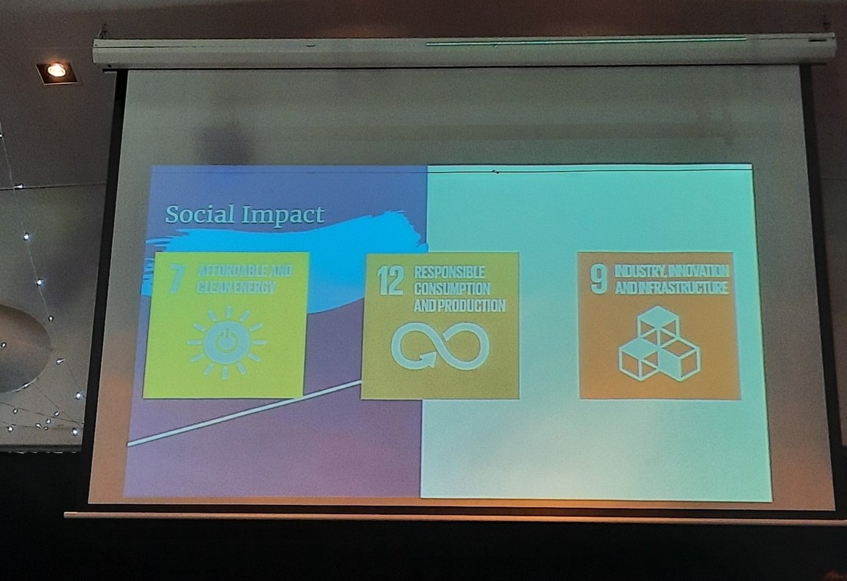 Sustainable Development Goals as part of a business plan. Love it!