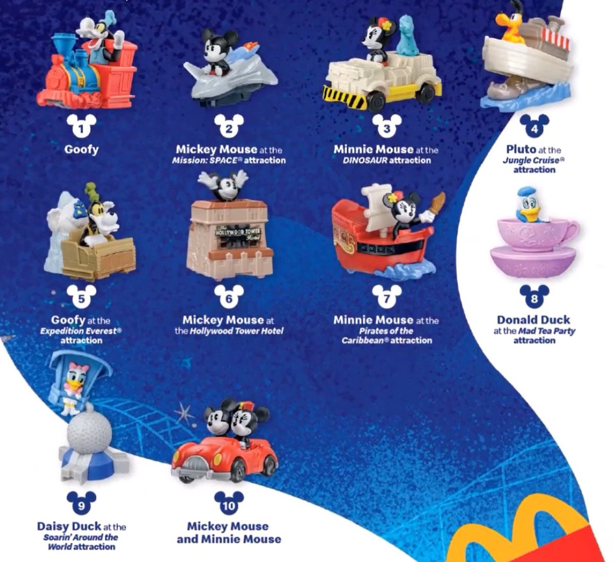 @McDonalds when will we be able to buy the entire set of #DisneyRunawayRailway toys?! Some locations are saying entire collection will be for sale starting tomorrow but others say the toys will no longer be sold... what's the deal? #MickeyandMinniesRunawayRailway #McDonalds #toys