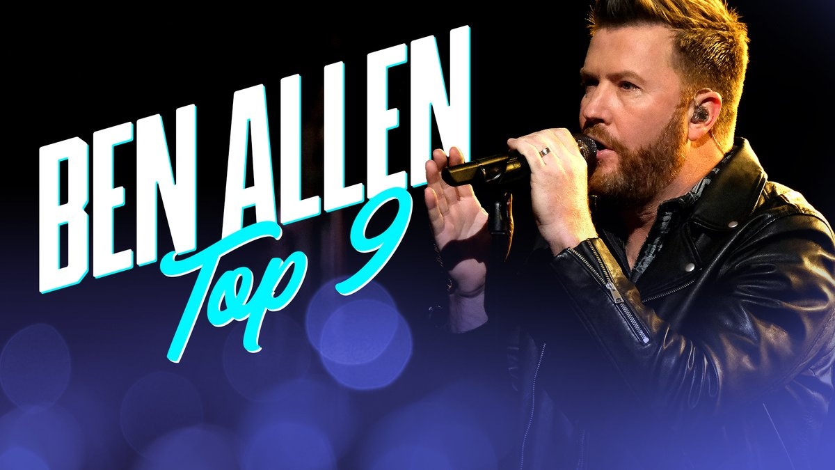 We didn't know how badly we needed @BenAllenband singing a @BlakeShelton song. 😍 #TeamGwen #VoiceTop9