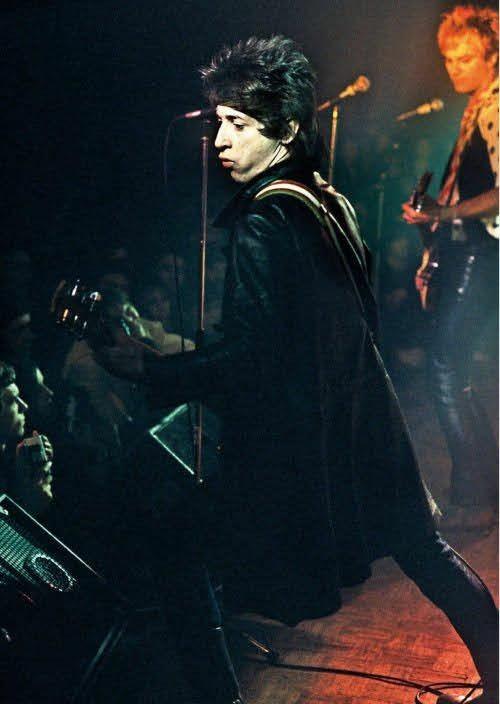 Johnny Thunders at the Bataclan, Paris, December 8, 1977.  #punk #punks #punkrock #oldschoolpunk #punklegends #johnnythunders #theheartbreakers #history #punkrockhistory #otd