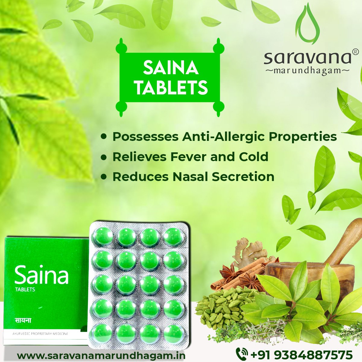 This Winter, Get the strength to Fight Cold and Fever with Saina an Ayurvedic remedy for Cold and Flu. For orders call - 9384887575 or Visit -  #saina #tuesdaymotivations #cough #cold #flu #herbalifenutrition #ayurvedaday #onlineshopping #Chennai