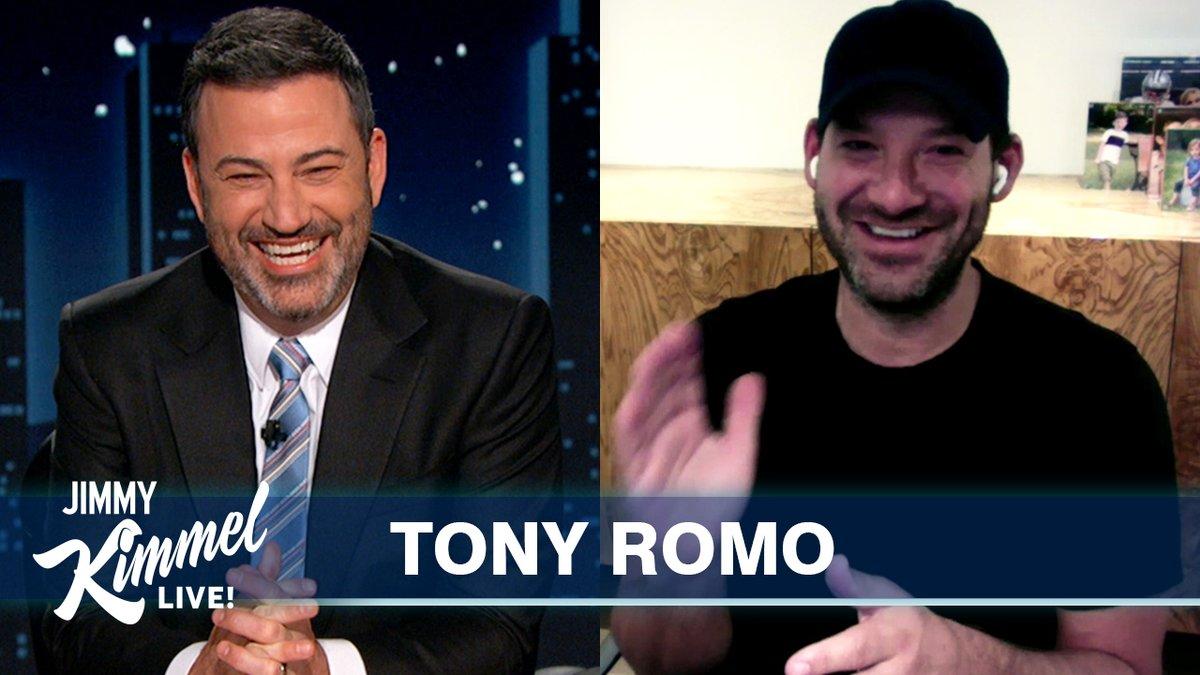 .@TonyRomo imitates @TomBrady, #PeytonManning & @BrettFavre… 🏈😂
