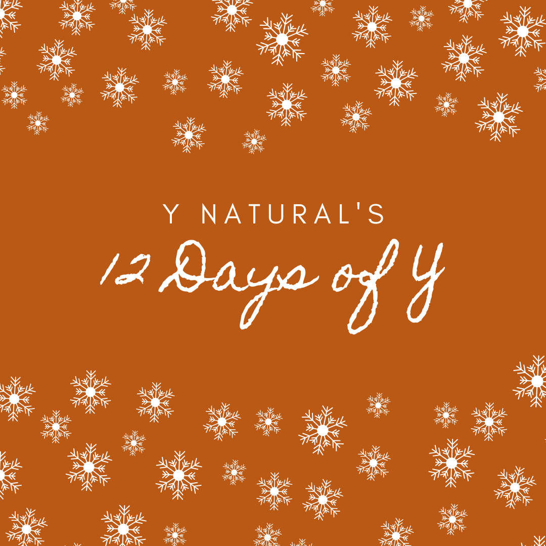 Introducing the 12 Days of Y...  Give the gift of wellness this #Christmas with our holiday #giftguide the 12 days of Y.  Starting from tomorrow, we will be sharing our picks for the 12 best Y natural #gifts to spoil your loved ones with.  #Christmas2020