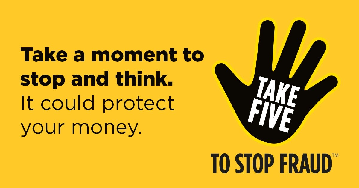 #TakeFive and follow our tips to protect yourself from fraudsters whilst shopping online. 💻 scotland.police.uk/takefive