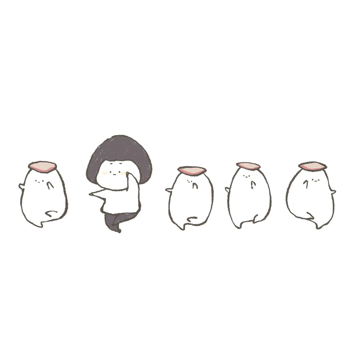 ブリのお寿司のダンス #イラスト #そぼかわ 」 おおもりの漫画