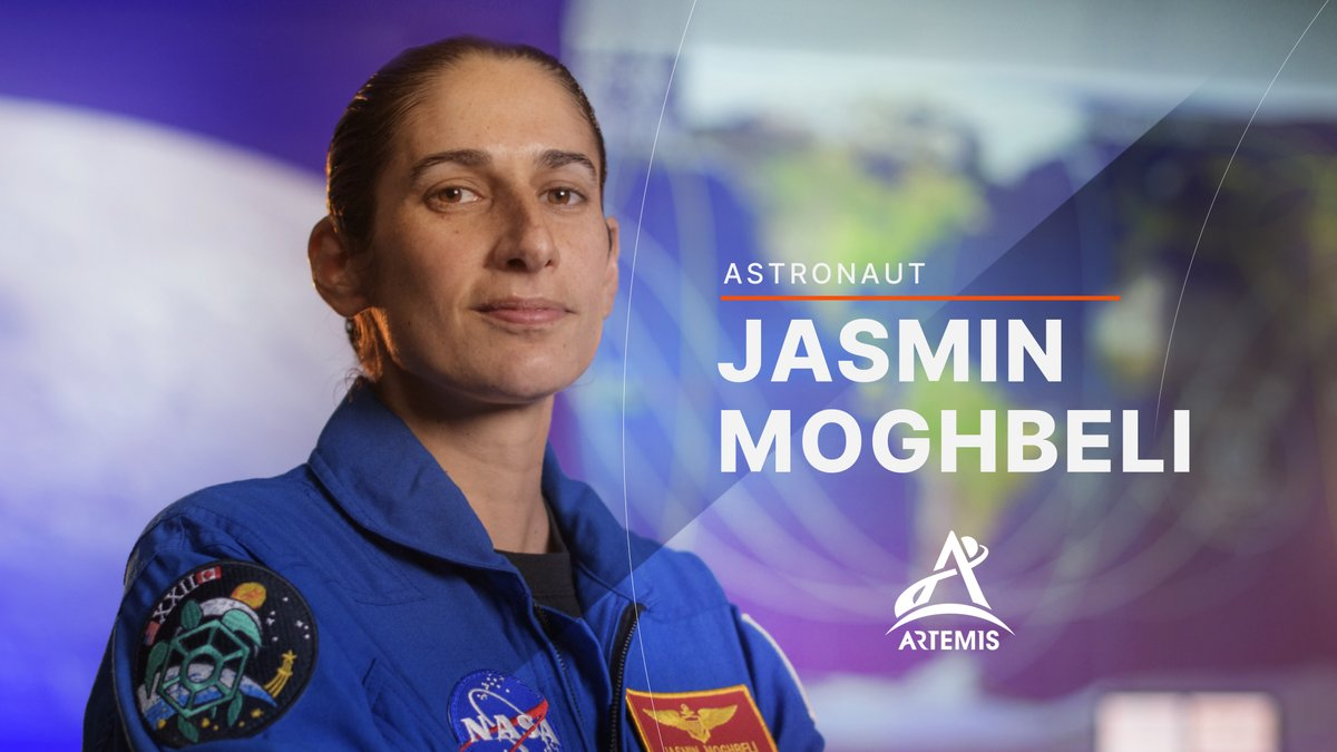 Prior to joining NASA, @USMC officer Jasmin Moghbeli (@AstroJaws) tested H-1 helicopters. Now, she joins the @NASAArtemis team of astronauts who will help pave the way for human missions to the Moon and inspire the #Artemis Generation of explorers! 🚀🌕