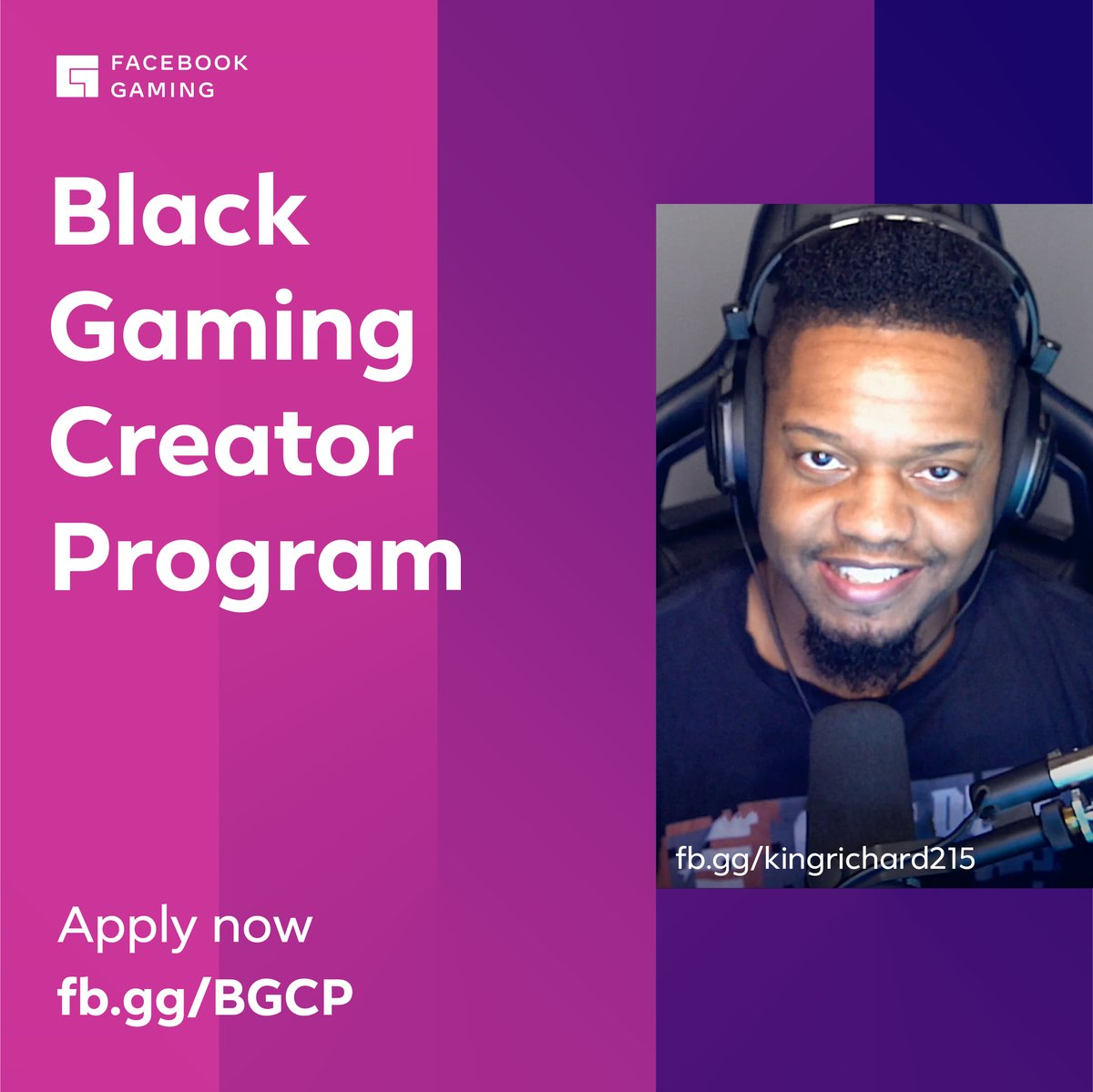 1/ Today I'm thrilled to share that #FacebookGaming is committing $10 million over two years to support the Black gaming creator community. This is part of our company-wide commitment to support Black and diverse communities in the US.