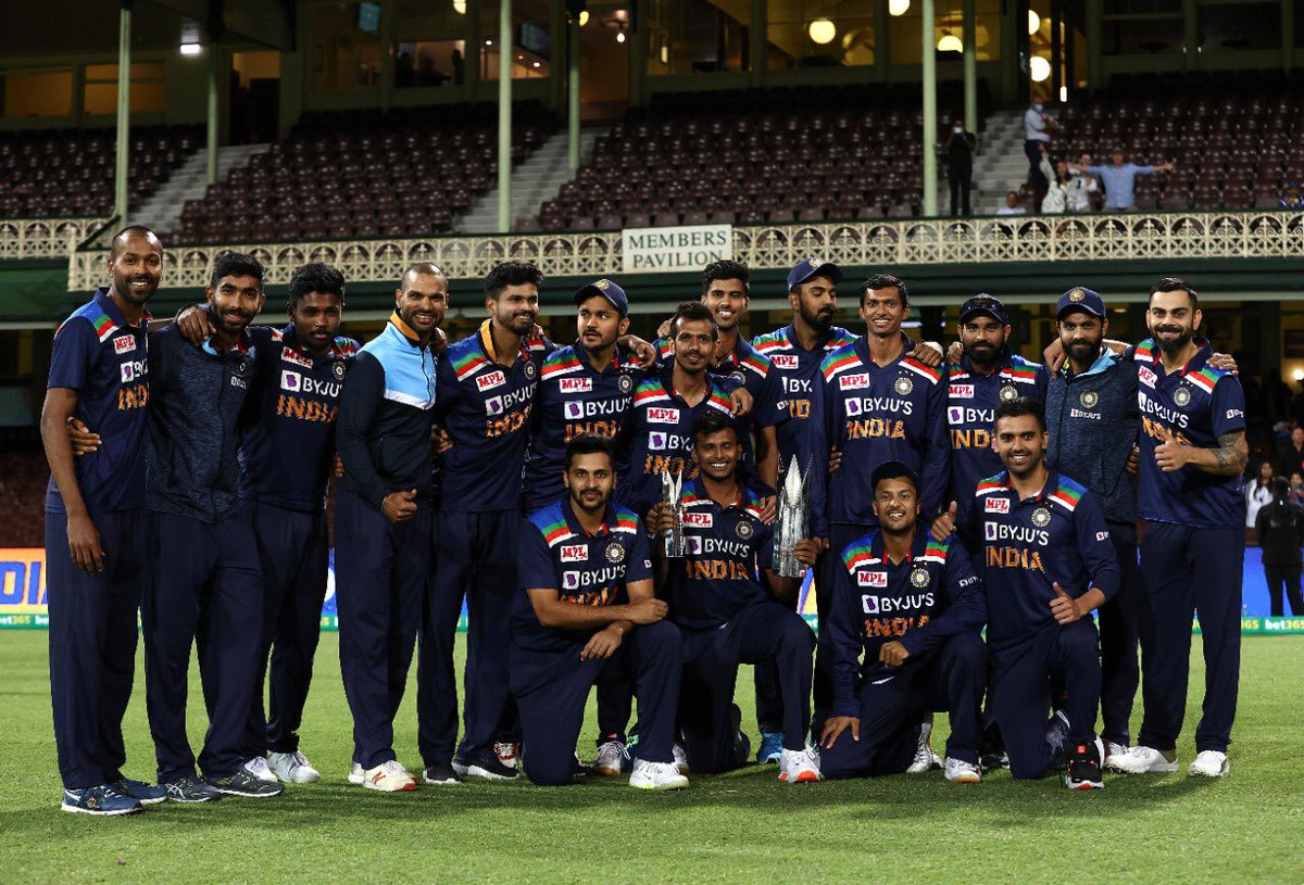 Phenomenal t20 series win down under, beating Aussies in their own den is special ❤️